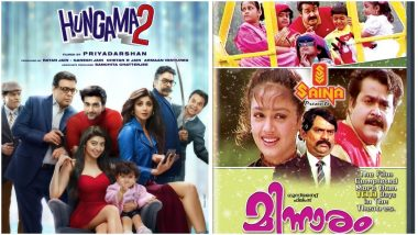 Hungama 2: Is Priyadarshan's Upcoming Comedy, Starring Shilpa Shetty and Paresh Rawal, Remake of Mohanlal's Minnaram? Why We Feel So! (LatestLY Exclusive)