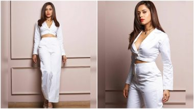 Nushrratt Bharuccha's White Separates Ooze Charm and Elegance All At Once (View Pics)