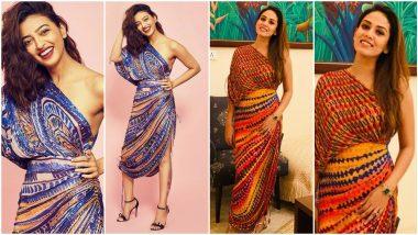Fashion Faceoff: Radhika Apte or Mira Rajput, Who Nailed This Saaksha & Kinni Outfit Better? (View Pics)