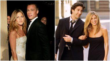 When Brad Pitt Named 'Ross-Rachel' as His Favourite TV Couple!
