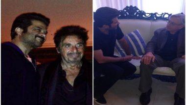 Entertainment News | Anil Kapoor Shares Throwback Pictures with Robert De Niro, Al Pacino
