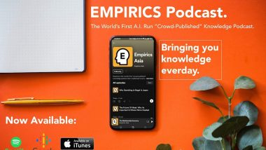 Empirics Asia Launches The World's First Podcast Show Run Entirely by an AI