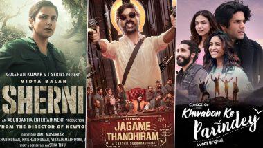 OTT Releases Of The Week: Vidya Balan's Sherni on Amazon Prime Video, Dhanush's Jagame Thandhiram on Netflix, Asha Negi's Khwabon Ke Parindey on VOOT Select and More