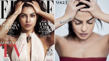 Priyanka Chopra's Picture From Her Latest Vogue Photoshoot Reminds Us Of Her 2016 Elle Cover (View Pics)