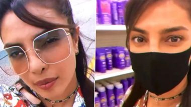 Priyanka Chopra Visits a Target Store in the States, Shares Excitement of Finding Anomaly's Products (Watch Video)