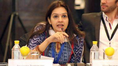 'Reduce Gap for COVID-19 Vaccination of Students Going Abroad', Says Shiv Sena MP Priyanka Chaturvedi