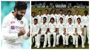 Ravindra Jadeja Cheers For Indian Women's Cricket Team Ahead of Their One-Off Test Match 2021 Against England (See Post)