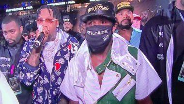 Netizens React As Floyd Mayweather Wears A OnlyFans Hat For Logan Paul Fight
