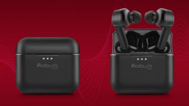 Lava Probuds TWS Earbuds Launched in India; Check Prices, Features & Other Details