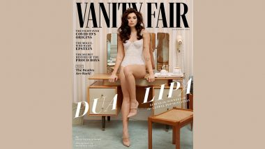 Dua Lipa Slays in Sexy Lacy Corset Bodysuit as She Features in Vanity Fair Magazine Cover (View PHOTOS)