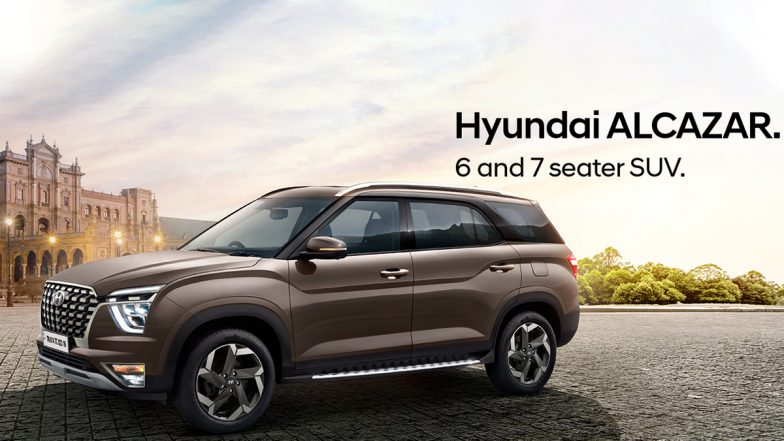 2021 Hyundai Alcazar Three-Row SUV Launched in India at Rs 16.30 Lakh; Check Variant-Wise Prices, Features & Specifications