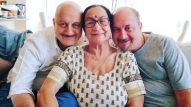 Anupam Kher Shares His Mother's Reaction on Him Completing 40 Years in Mumbai
