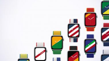 Apple Launches New International Collection Bands for Its Smartwatch
