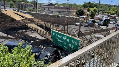 US: Six People Injured in Washington Pedestrian Bridge Collapse