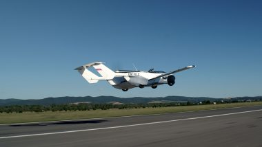 Klein Vision's Flying AirCar Completes First Ever Inter-City Flight in Slovakia, Watch Video Here