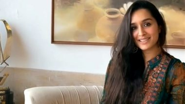 Shraddha Kapoor Surprises Fans With a Singing Session, Shares a Video While Crooning to 'Sun Saathiya' (Watch Video)