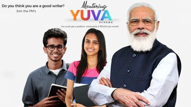YUVA- Prime Minister's Scheme For Mentoring Young Authors: PM Modi Shares 'Interesting Opportunity' for Youngsters to Contribute to Nation's Intellectual Discourse