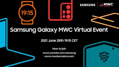 MWC 2021 Barcelona: Samsung Galaxy Watch 4 & Galaxy Buds 2 Launch Expected Tonight, How To Watch LIVE Stream