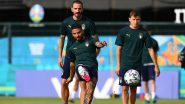 Italy vs Wales, UEFA Euro 2020 Live Streaming Online & Match Time in IST: How to Get Live Telecast of ITA vs WAL on TV & Free Football Score Updates in India