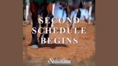 Shaakuntalam: Samantha Akkineni Returns for the Second Schedule of Gunasekhar's Film