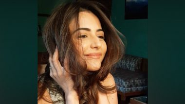 Rakul Preet Singh Shares a Throwback Picture Flaunting Her Hair, Says 'Can't Wait To Get Back on Set and Enjoy Good Hair Day, Everyday' (View Pic)