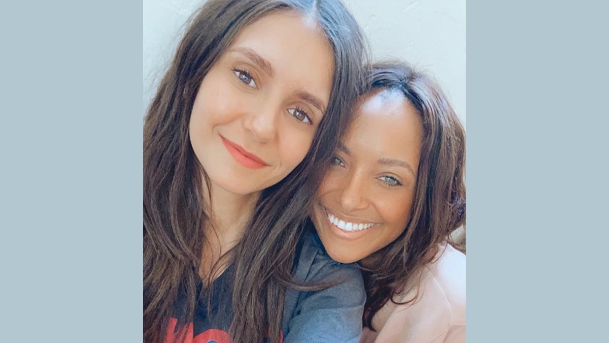 Nina Dobrev, Kat Graham Sets the Internet on Fire With Vampire Diaries  Reunion (See Pic) - Fresh Headline
