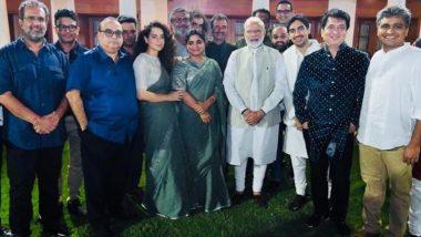 When Kangana Ranaut and Her Panga Director Ashwiny Iyer Tiwari Accidentally Twinned While Meeting PM Narendra Modi