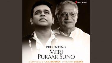 AR Rahman Collaborates With Legendary Gulzar For 'Meri Pukaar Suno', Check Out the Teaser