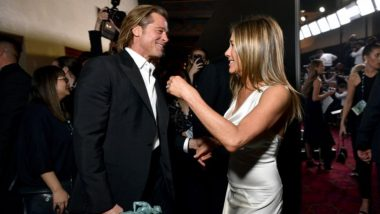 Jennifer Aniston Clarifies 'There's No Oddness at All' With Ex Brad Pitt