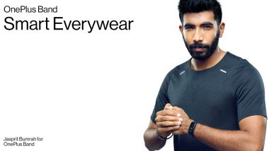 OnePlus Appoints Cricketer Jasprit Bumrah As Brand Ambassador for Its Wearables: Report