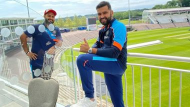 Rohit Sharma Shares Picture With Rishabh Pant As Team India Reaches Southampton For WTC Final 2021