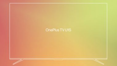 OnePlus TV U1S Features Teased on Official India Website