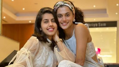 Taapsee Pannu Kickstarts June on Positive Note, Calls Sister Shagun Her Support System (View Pic)