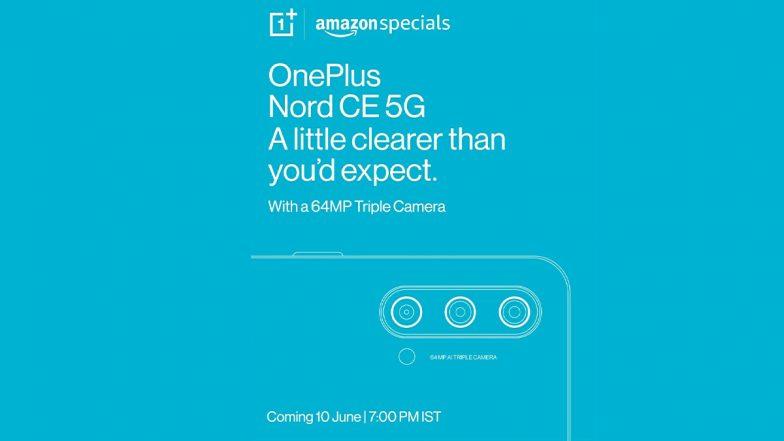 Teléfono OnePlus Nord CE 5G