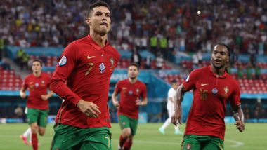 Cristiano Ronaldo Equals Ali Daei of Iran to Score Most Number of International Goals, CR7 SMASHES More Records During Portugal vs France, Euro 2020