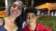 Georgina Rodriguez and Cristiano Ronaldo Jr Celebrate Juventus Star's Record Night For Portugal Against France in Euro 2020 (See Pics)