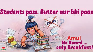 Amul Topical Says 'No Board, Only Breakfast' after Centre Cancels CBSE Class 12 Board Exams 2021
