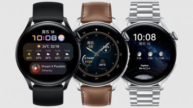 Huawei Watch 3 & Huawei Watch 3 Pro With HarmonyOS 2.0 Launched