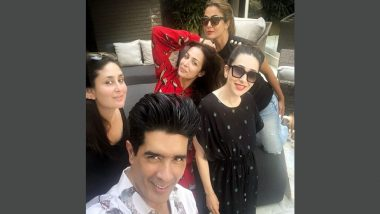 Kareena Kapoor, Karisma Kapoor and the Girl Gang Spend Another Lovely Afternoon Together, Manish Malhotra Joins the Ladies