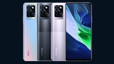 Infinix Note 10, Note 10 Pro Smartphones To Be Launched in India on June 7, 2021