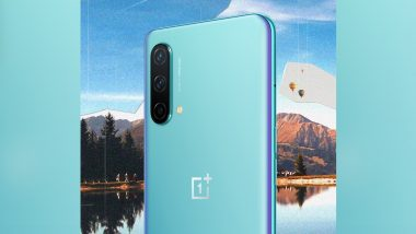 OnePlus Nord CE 5G To Get 4,500mAh Battery With 30T Plus Warp Charging Support