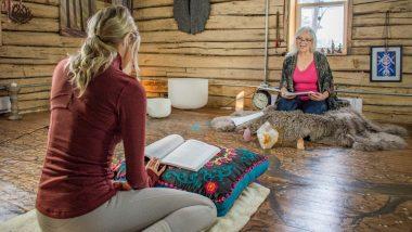 What is Yin and Restorative Yoga? Carol Robinson of Angels Among Us Reiki Explains