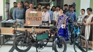 Electric Bike With Wireless Charging Developed by Students of K L University