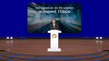 Reliance AGM 2021: Jio To Use Google Cloud Technologies To Power 5G Solutions