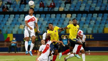 Colombia vs Peru, Copa America 2021 3rd Place Match Live Streaming Online & Time in IST: How to Get Live Telecast of COL vs PER on TV & Free Football Score Updates in India