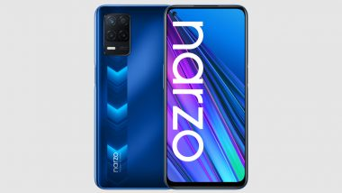 Realme Narzo 30 5G Smartphone Gets New 4GB+64GB Variant; To Go on Sale During Realme Fan Festival 2021