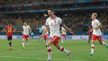 Robert Lewandowski Helps Poland Secure 1-1 Draw Over Spain in Euro 2020