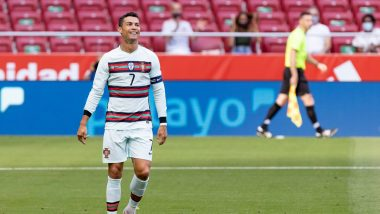 Cristiano Ronaldo Reacts After 2021 Friendly Match Between Spain and Portugal Ends With a Goalless Draw