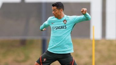 Cristiano Ronaldo Sets His 'Eyes on the Ball' Ahead of Hungary vs Portugal, Euro 2020 (See Pic)