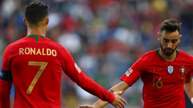 Manchester United Posts a Picture of Cristiano Ronaldo & Bruno Fernandes, Caption of the Snap Triggers Transfer Rumours